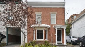 Charming and Historic Lowertown home situated on large green urban lot