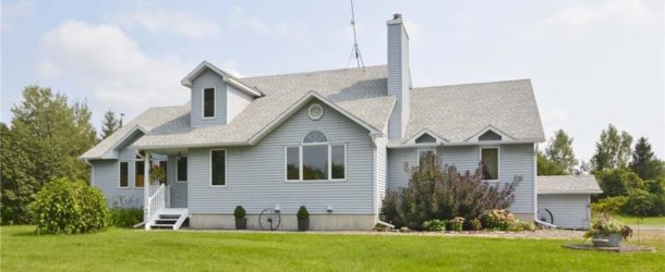 Large, open spacious custom built bungalow with land