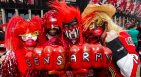 Senators fans: Loud, proud… and so Canadian