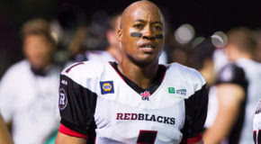 Burris shows up at Redblacks practice, jokes with ex-teammates
